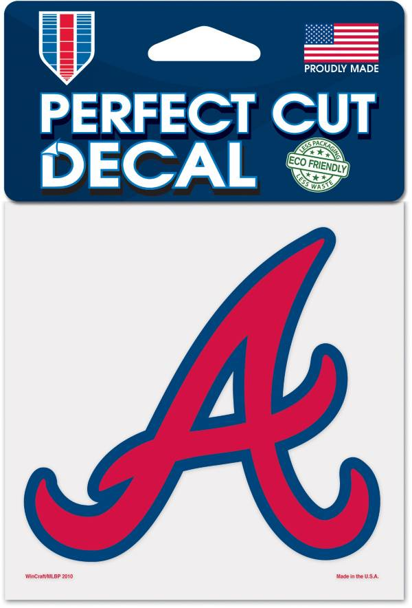 WinCraft Atlanta Braves 4'x4' Decal product image
