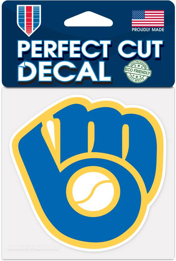 WinCraft Milwaukee Brewers 4'x4' Decal product image