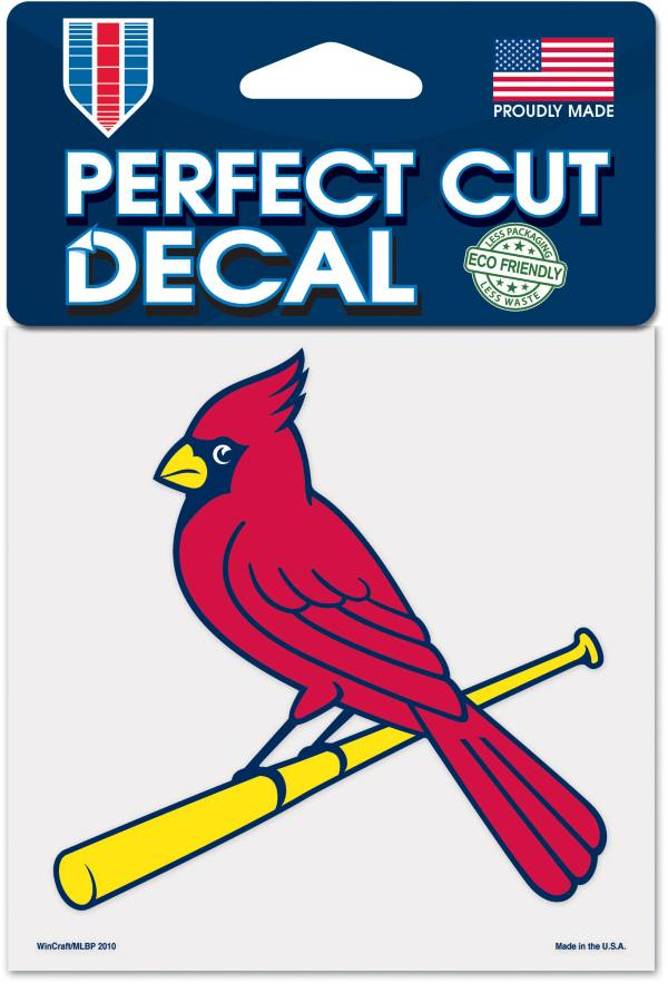 WinCraft St. Louis Cardinals 4'x4' Decal product image