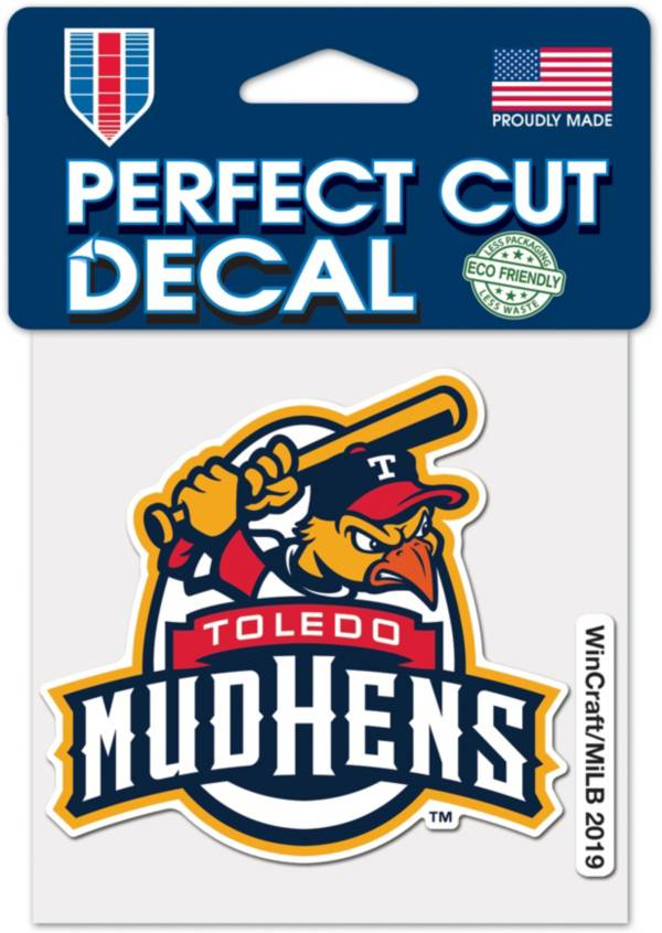 WinCraft Toledo Mud Hens 4'x4' Decal product image