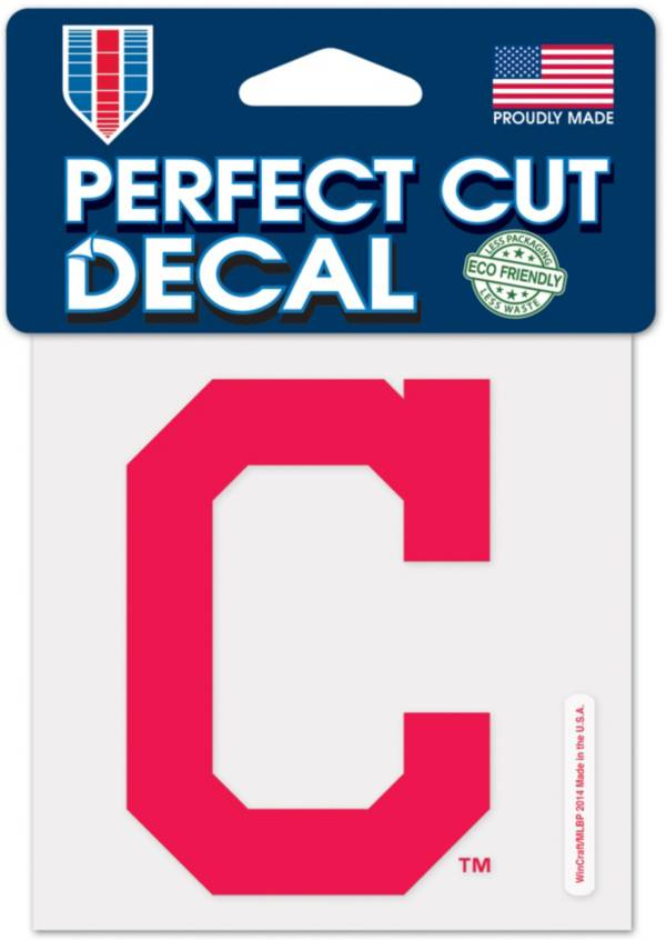 WinCraft Cleveland Indians 4'x4' Decal product image