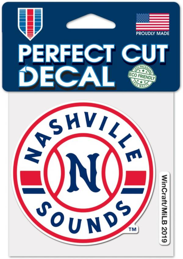 WinCraft Nashville Sounds 4'x4' Decal product image