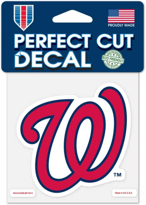 WinCraft Washington Nationals 4'x4' Decal product image