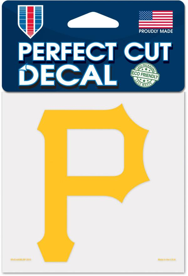 WinCraft Pittsburgh Pirates 4'x4' Decal product image