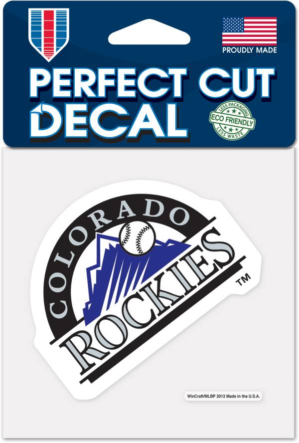 WinCraft Colorado Rockies 4'x4' Decal product image