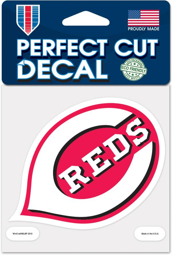 WinCraft Cincinnati Reds 4'x4' Decal product image