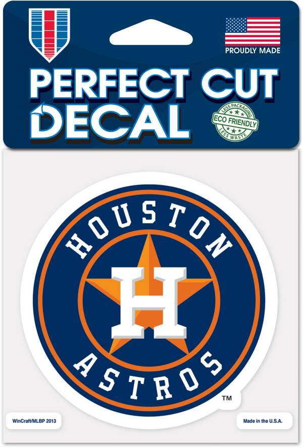 WinCraft Houston Astros 4'x4' Decal product image