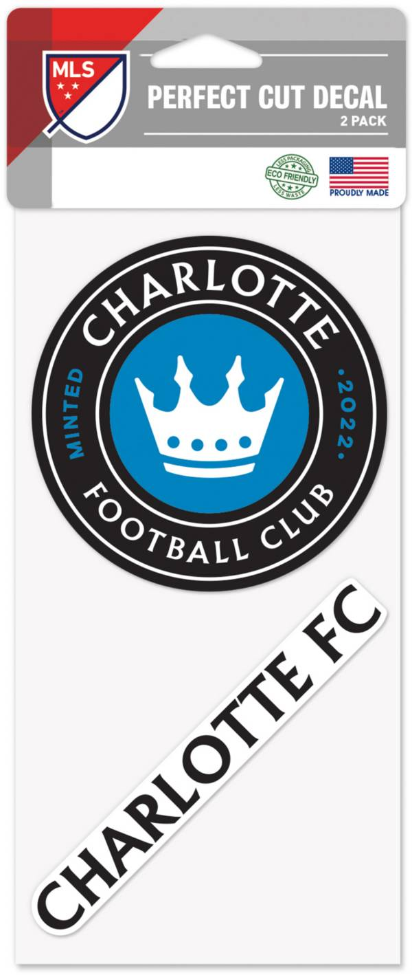 WinCraft Charlotte FC 2pk Decal product image