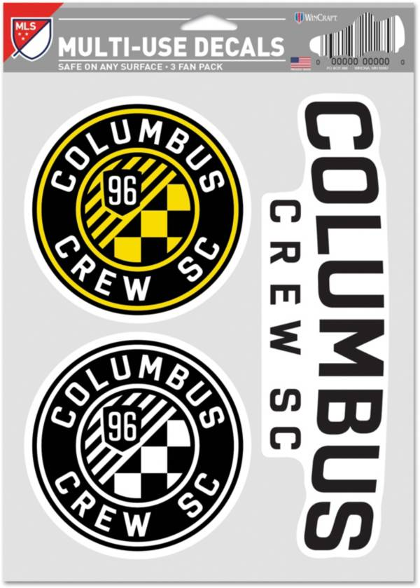 WinCraft Columbus Crew Decal Sheet product image