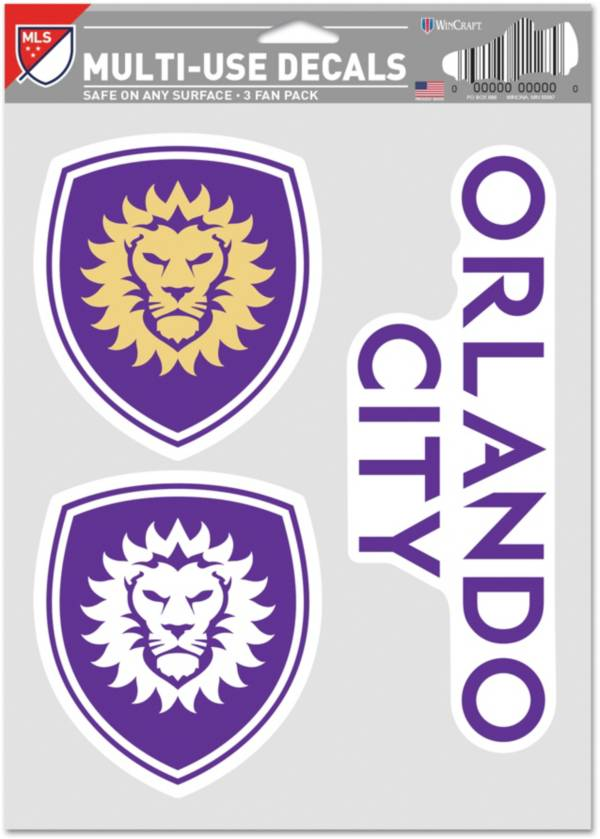 WinCraft Orlando City Decal Sheet product image