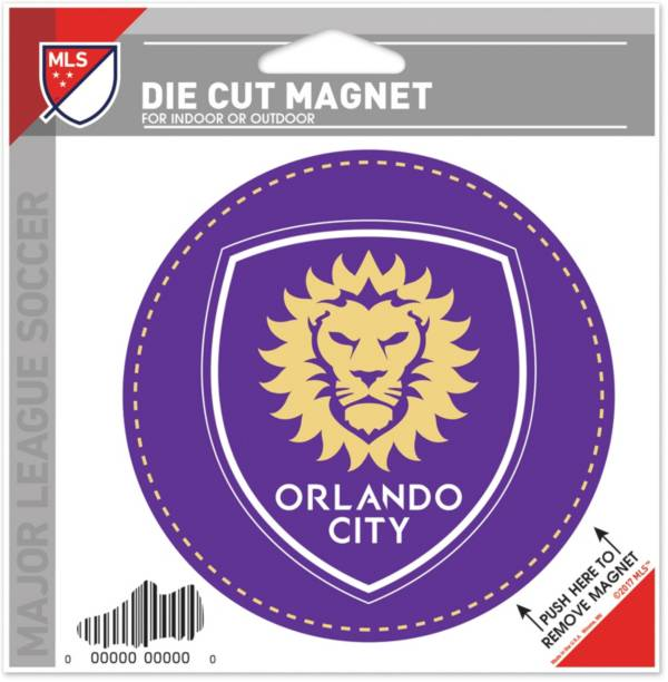 WinCraft Orlando City Die-Cut Magnet product image