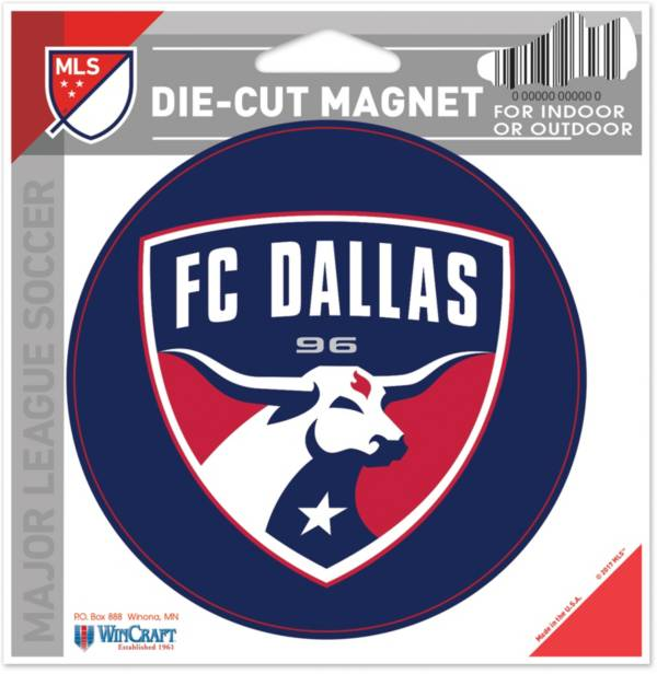 WinCraft FC Dallas Die-Cut Magnet product image
