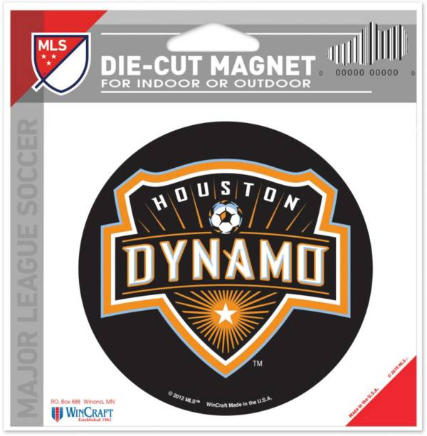 WinCraft Houston Dynamo Die-Cut Magnet product image