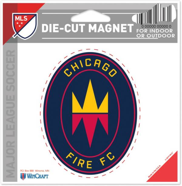 WinCraft Chicago Fire Die-Cut Magnet product image