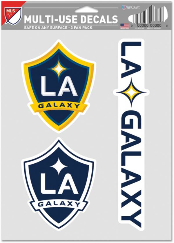 WinCraft Los Angeles Galaxy Decal Sheet product image