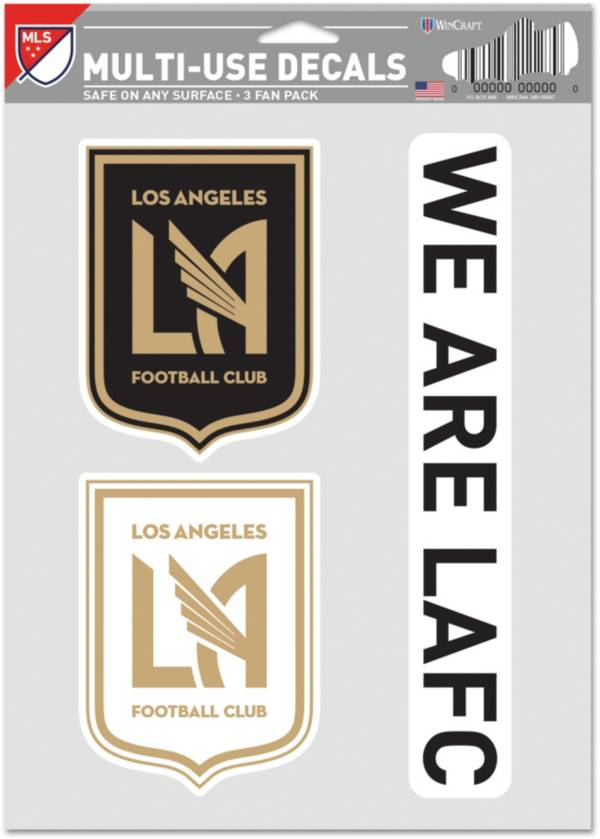 WinCraft Los Angeles FC Decal Sheet product image