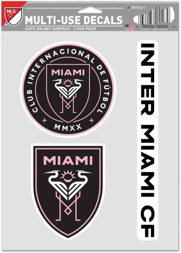 WinCraft Inter Miami FC Decal Sheet product image