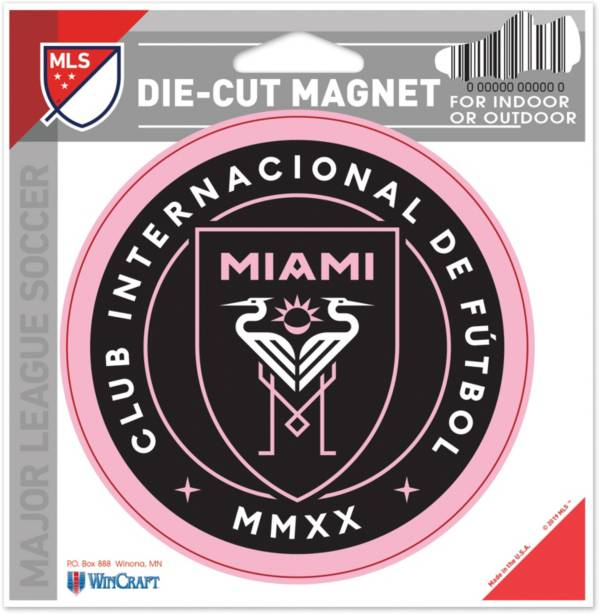 WinCraft Inter Miami CF Die-Cut Magnet product image