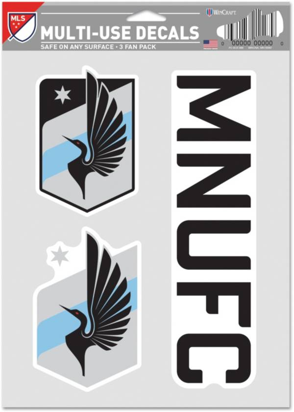 WinCraft Minnesota United FC Decal Sheet product image