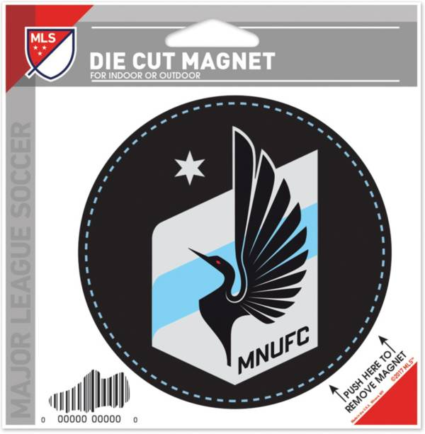 WinCraft Minnesota United FC Die-Cut Magnet product image