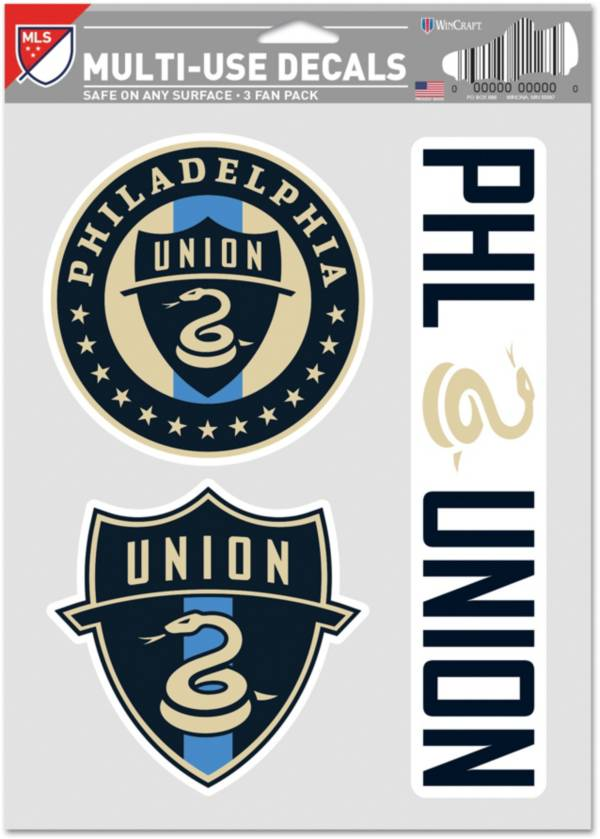 WinCraft Philadelphia Union Decal Sheet product image