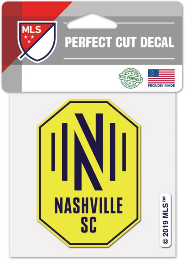 WinCraft Nashville SC 4'x4' Decal product image
