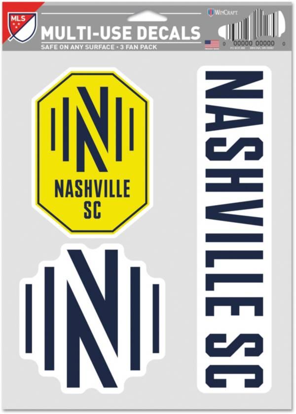 WinCraft Nashville SC Decal Sheet product image
