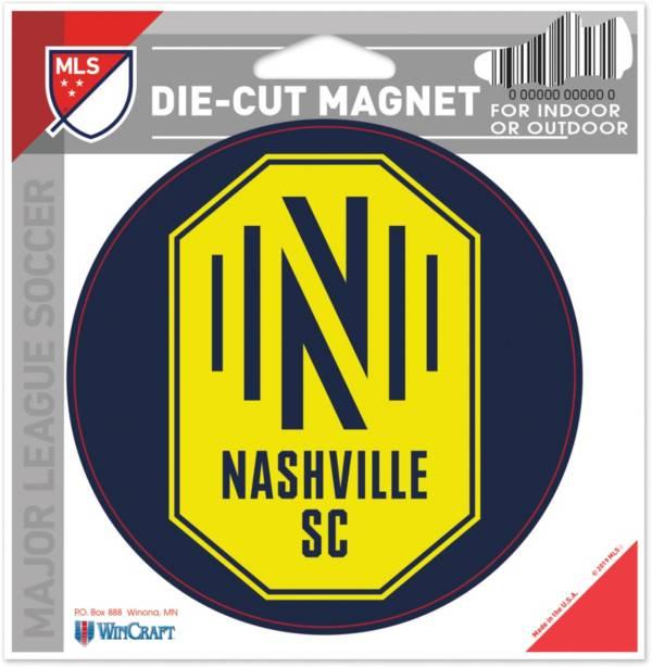 WinCraft Nashville SC Die-Cut Magnet product image
