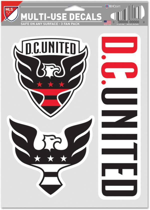 WinCraft D.C. United Decal Sheet product image