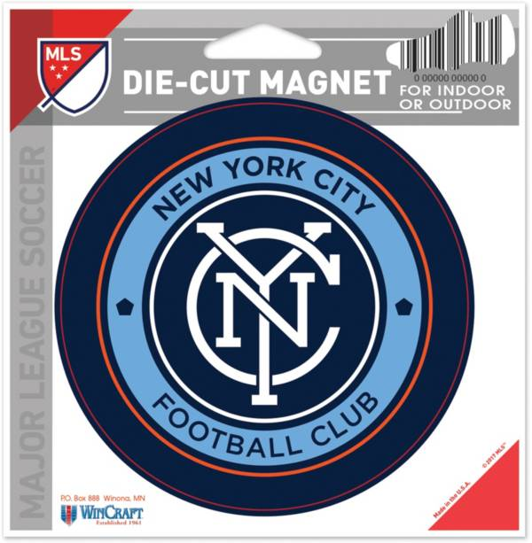 WinCraft New York City FC Die-Cut Magnet product image