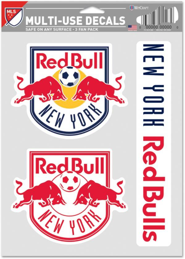 WinCraft New York Red Bulls Decal Sheet product image