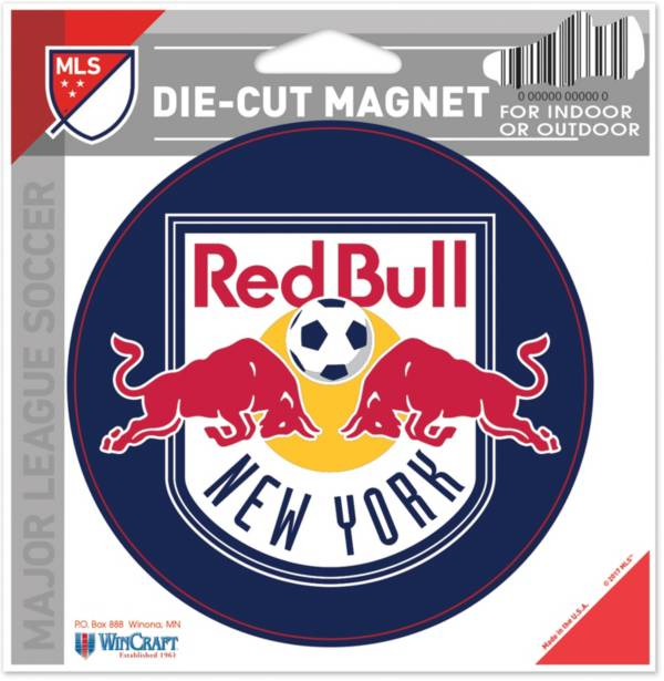 WinCraft New York Red Bulls Die-Cut Magnet product image