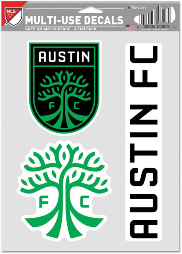 WinCraft Austin FC Decal Sheet product image