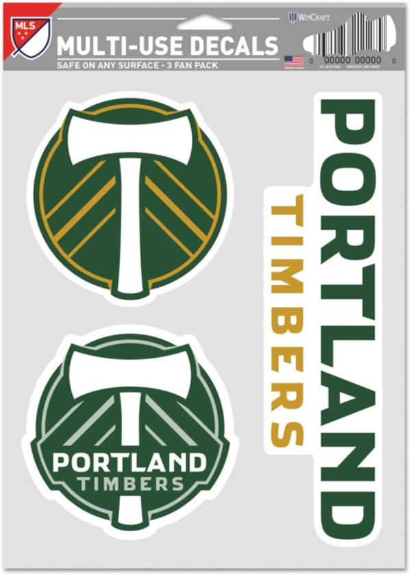 WinCraft Portland Timbers Decal Sheet product image
