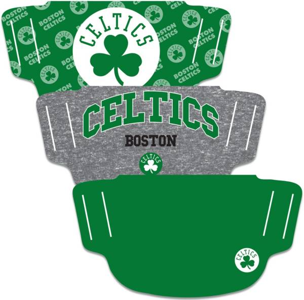Wincraft Boston Celtics Face Coverings – 3-Pack product image