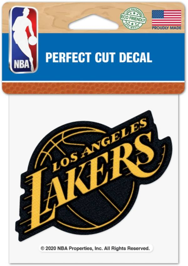 """WinCraft Los Angeles Lakers 4"""" x 4"""" Decal product image"""
