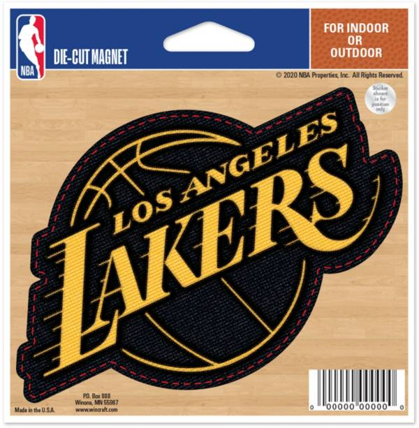 "WinCraft Los Angeles Lakers 5"" x 6"" Magnet product image"