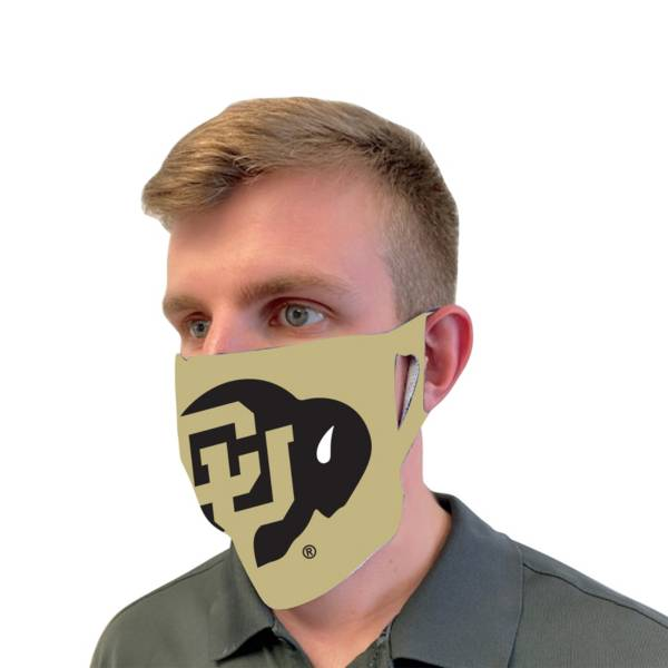 Wincraft Adult Colorado Buffaloes Team Clear Face Mask product image