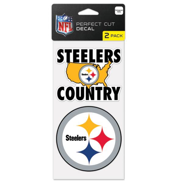 WinCraft Pittsburgh Steelers 2 pk. Decal product image