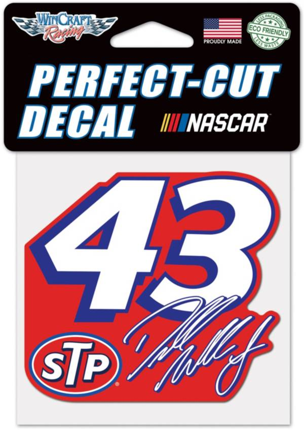 "WinCraft Bubba Wallace #43 4"" x 4"" Decal product image"