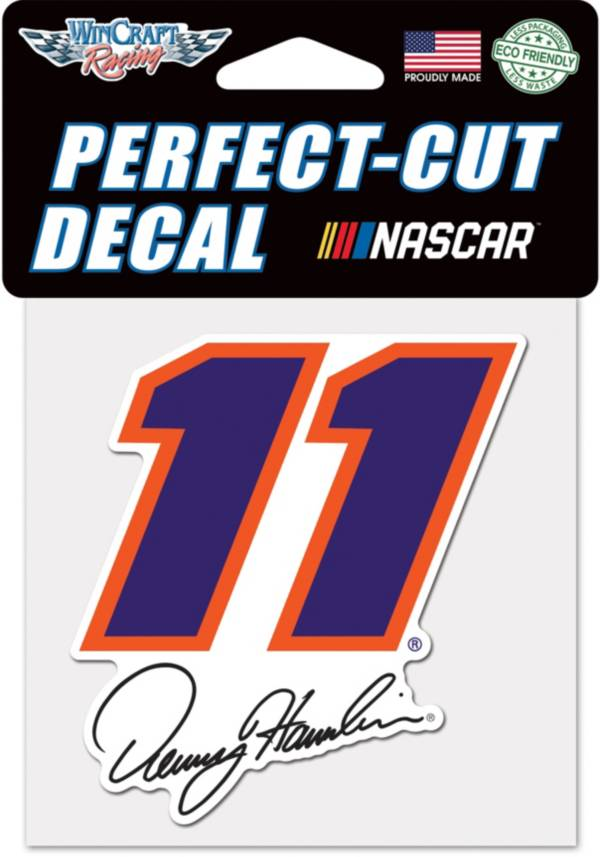 "WinCraft Denny Hamlin #11 4"" x 4"" Decal product image"