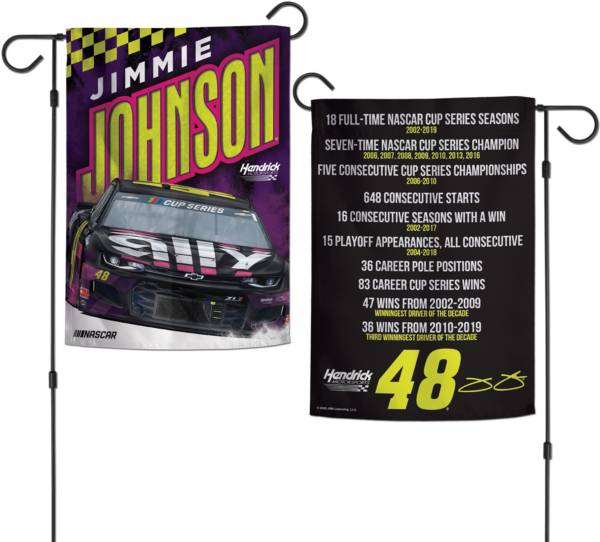WinCraft Jimmie Johnson #48 Garden Flag product image
