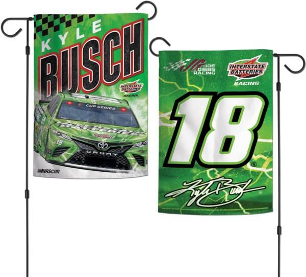 WinCraft Kyle Busch #18 Garden Flag product image