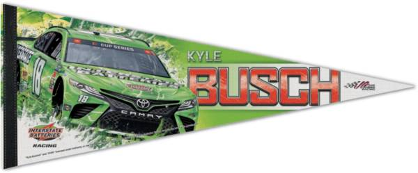 WinCraft Kyle Busch #18 Premium Pennant product image
