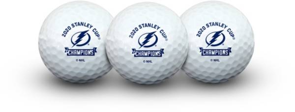 WinCraft Tampa Bay Lightning 2020 Stanley Cup Champions Golf Balls product image