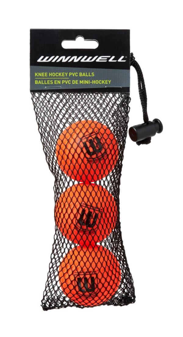 Winnwell 50mm Knee Hockey Balls - 3 Pack product image
