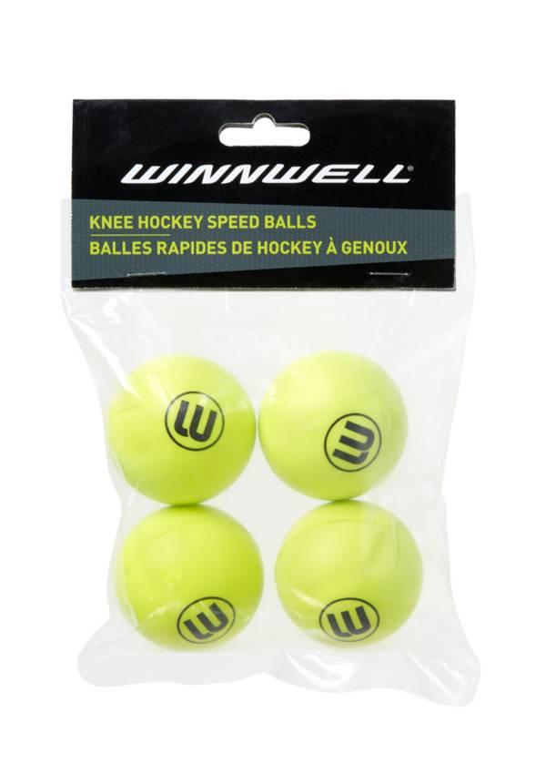 Winnwell Speed 50mm Knee Hockey Balls - 4 Pack product image