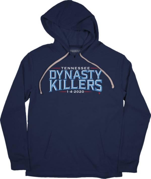 BreakingT Men's Dynasty Killers Navy Pullover Sweatshirt product image