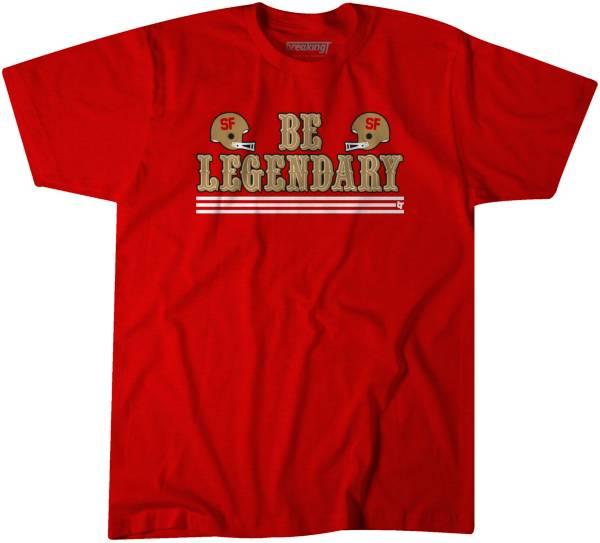 BreakingT Men's Be Legendary Red T-Shirt product image