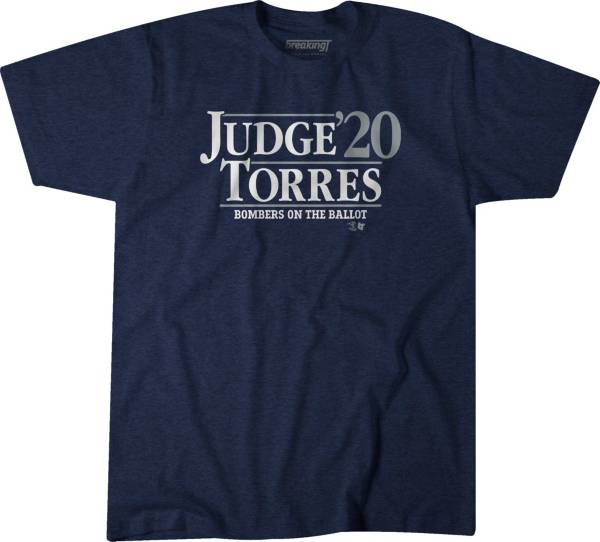 BreakingT Men's 'Judge & Torres 2020' Navy T-Shirt product image